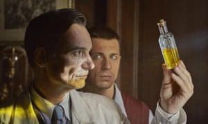 Taking a wee look … Ivan Trojan as Jan Mikolášek