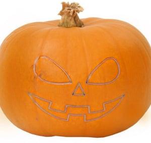 M&S's new lasered pumpkin.
