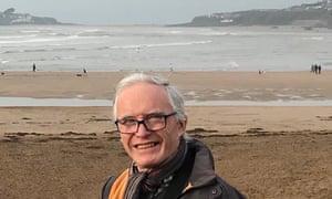 Paul Vann on Christmas Day, 2018. Taken on Bantham Beach in the South Hams looking across to Burgh Island/Bigbury.