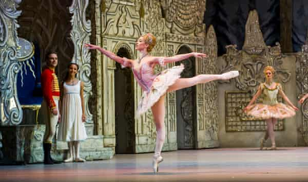 Lyrical and finely detailed … Yasmine Naghdi as the Rose Fairy.