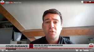Andy Burnham speaking at his press conference today
