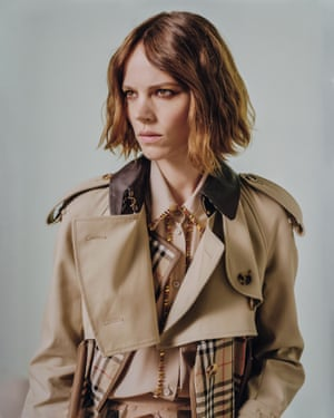 'When you do well for yourself in France you get the Chanel bag, in England you get the Burberry trench'.