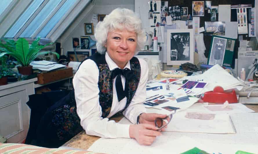 Gina Fratini in her workroom circa 1981