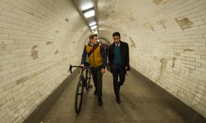 Stefan (Mark Strepan) and Rash (Ben Tavassoli) in New Blood.