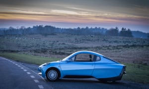The Rasa hydrogen fuel cell electric vehicle made by Riversimple