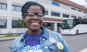 LeCrisha nPearson: 'We're trying to make sure every hospital worker across the city has a voice.'