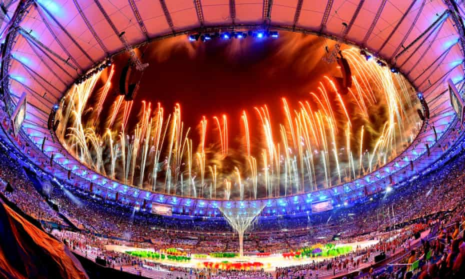 Fireworks lit up the Maracanã at the Rio 2016 closing ceremony but the truth behind the Games may be less joyful.
