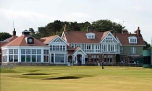 Muirfield golf course.
