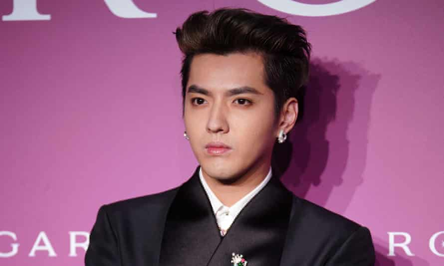 Kris Wu attends a Bulgari red carpet event in Shanghai, China, on 23 October 2020.