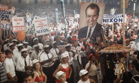 Richard Nixon cemented his popularity by appealing to conservative fears about the changing social order.