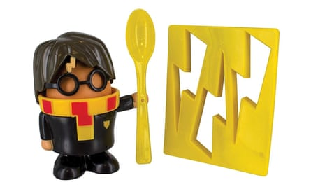 The Harry Potter egg cup and toast cutter.