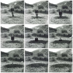 Keith Arnatt Self-Burial (Television Interference Project) 1969