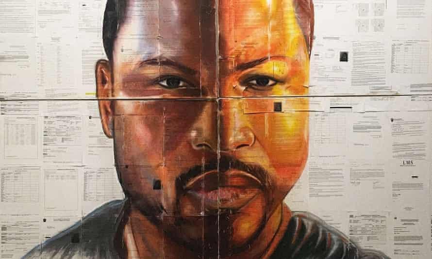 Russell Craig's self portrait.
