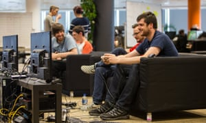 Reflection developers playing games