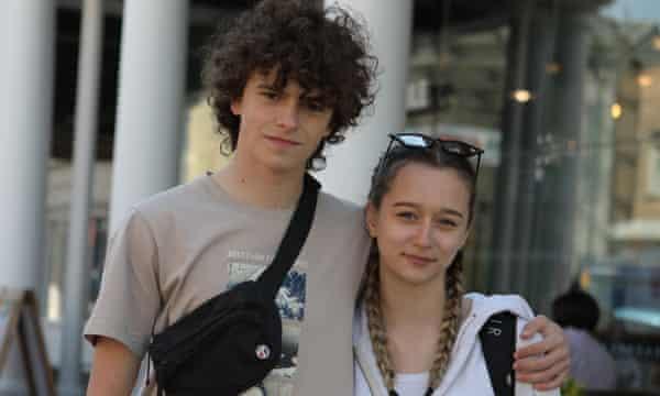 Adam Ireland and Sara Hutanu. Uxbridge