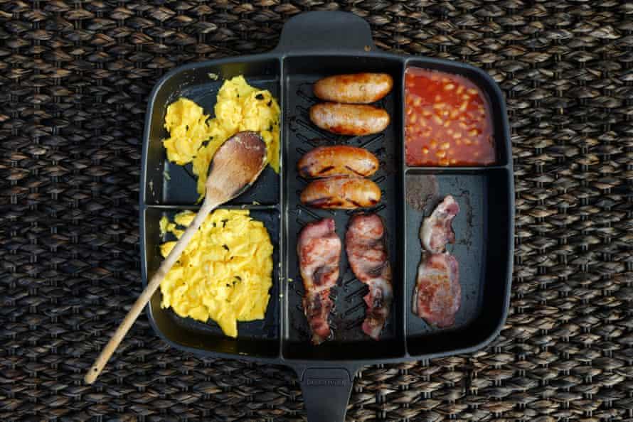 The (breakfast) creator has a Master Pan.