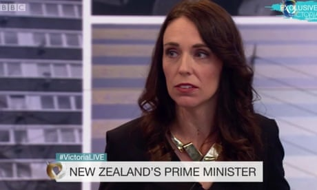 Jacinda Ardern asked in BBC interview if she plans to propose to her partner