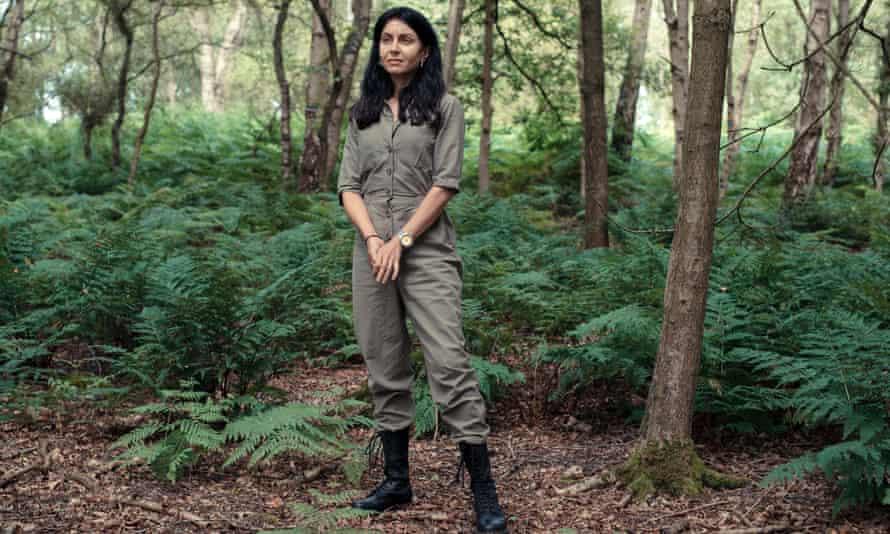 Nina Bhadreshwar photographed for Experience