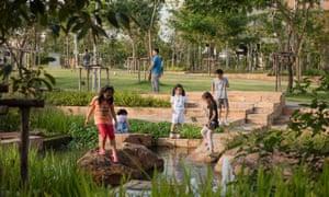 Chulalongkorn Centenary Park wetland.
