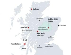 Travel Scotland bothy walks