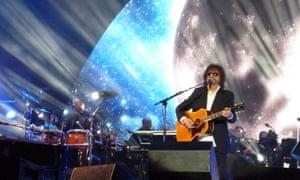 Crowd pleaser … Jeff Lynne's ELO perform at Hyde Park in London in September 2014.