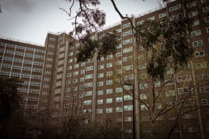 The Carlton Housing Commission complex on Lygon Street