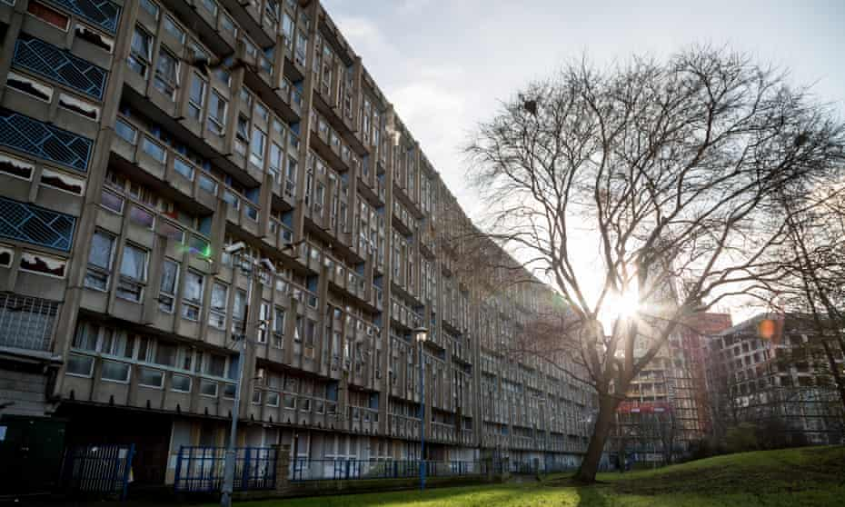 'Streets in the air' … Robin Hood Gardens, designed by Alison and Peter Smithson.