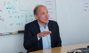 Tim Berners-Lee: 'What was once a rich selection of blogs and websites has been compressed under the powerful weight of a few dominant platforms.'