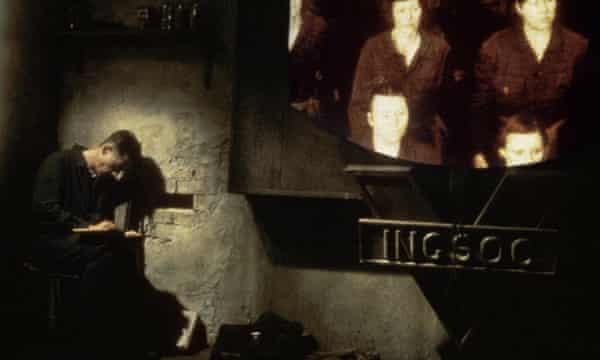 1984, NINETEEN EIGHTY-FOUR; 1984 JOHN HURT Character(s): Winston Smith Film 'NINETEEN EIGHTY-FOUR; 1984' (1984) Directed By MICHAEL RADFORD 10 October 1984 CTB6814 Allstar/MGM (UK 1984)