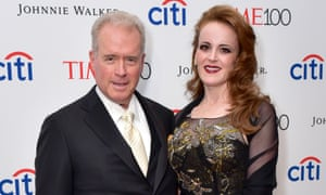 Robert Mercer with his daughter Rebekah.