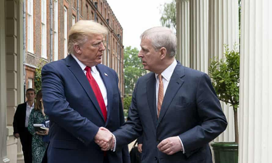 Trump and Prince Andrew