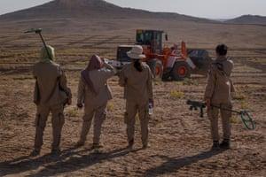 Demining in Iraq