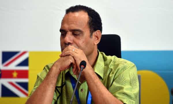 Vanuatu's oppositiong leader Ralph Regenvanu