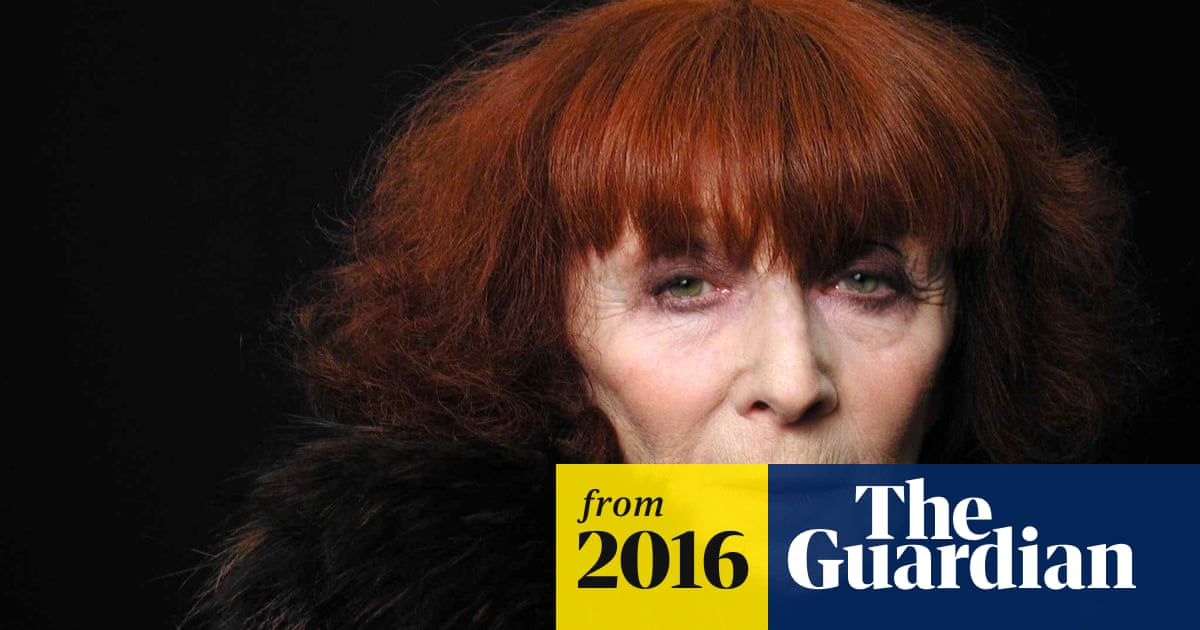 2c70ede5387 Sonia Rykiel, the French fashion designer, dies aged 86 | Fashion ...