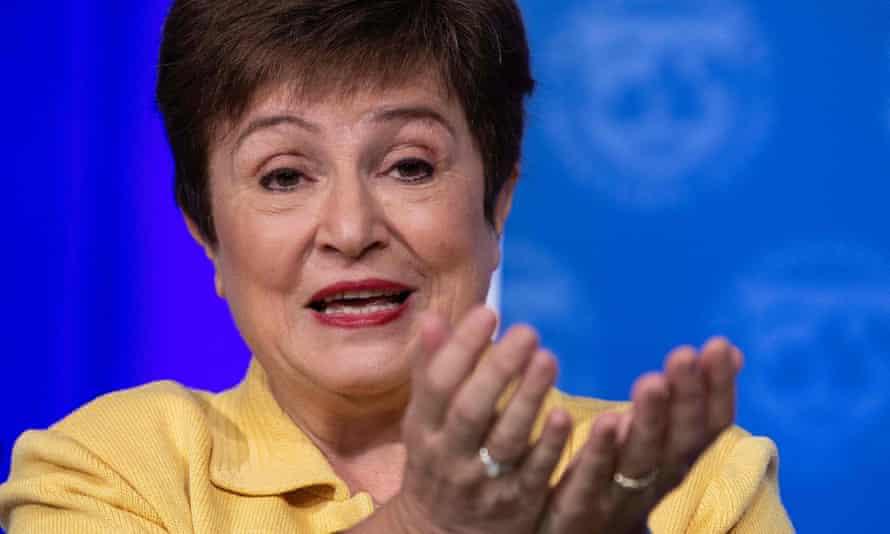 Kristalina Georgieva, the IMF's managing director