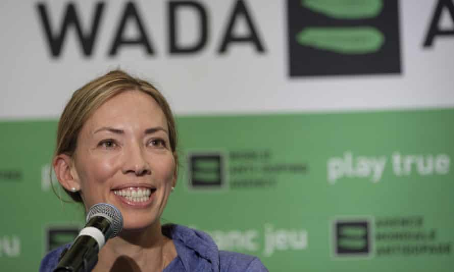 Beckie Scott is the chair of the World Anti-Doping Agency athlete committee.