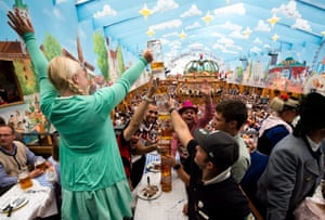 Locally Oktoberfest is known as die Wiesn because of its location in Theresienwiese, which was named after Therese von Sachsen-Hildburghausen