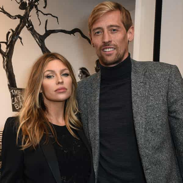 Crouch with his wife Abbey Clancy in 2017