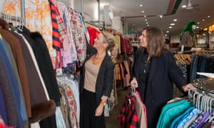 Mel Wilkinson and Jess Cartner-Morley on a vintage shopping trip in Rokit and Beyond Retro.
