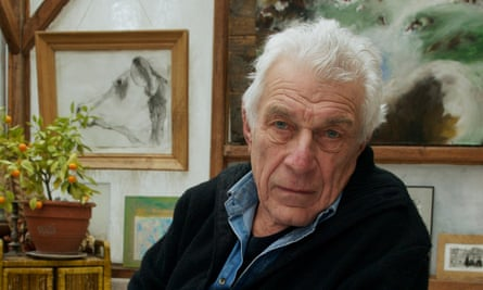 John Berger at home in France, 2009