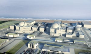 A CGI model of Hinkley Point C