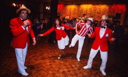 Redcoats entertaining in the Empress Ballroom