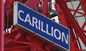 Construction company Carillion to go into liquidation.<br>epa06443368 The Carillion logo is attached to a crane at a construction site in London, Britain, 16 January 2018. Thousands of jobs in the UK and abroad maybe lost following the news that Construction company Carillion is to go into liquidation. Talks between lenders and the UK government has failed to reach a deal.  EPA/ANDY RAIN