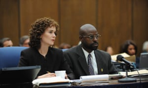 Sarah Paulson as Marcia Clark and Brown as Chris Darden: electric chemistry.