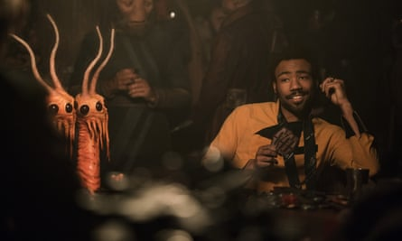 Donald Glover in Solo: A Star Wars Story.