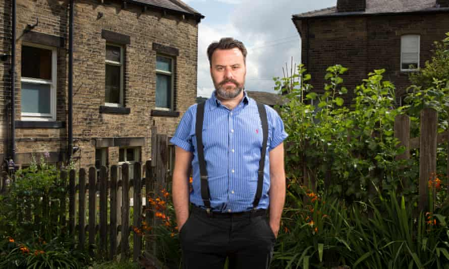 Benjamin Myers at home in Mytholmroyd in the Upper Calder Valley in West Yorkshire.