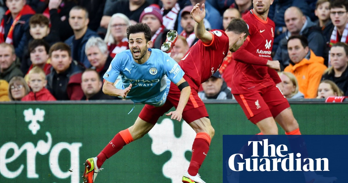 Manchester City make spitting complaint after thrilling Liverpool draw