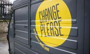 Change Please coffee cart