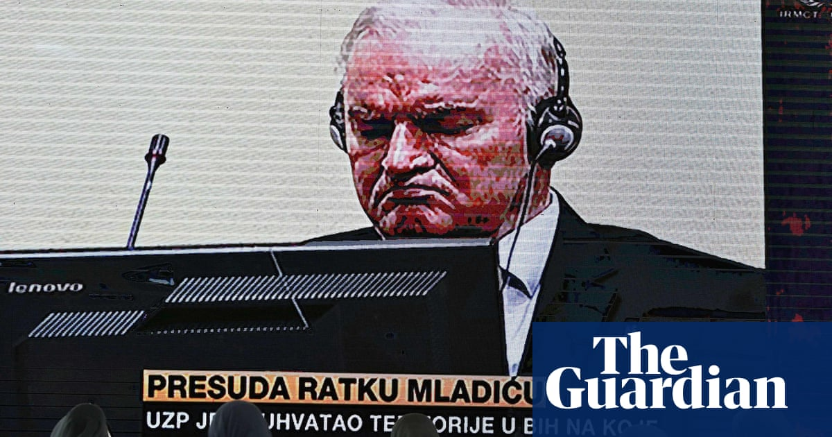 Ratko Mladić: life in prison is as close to justice as his victims will get
