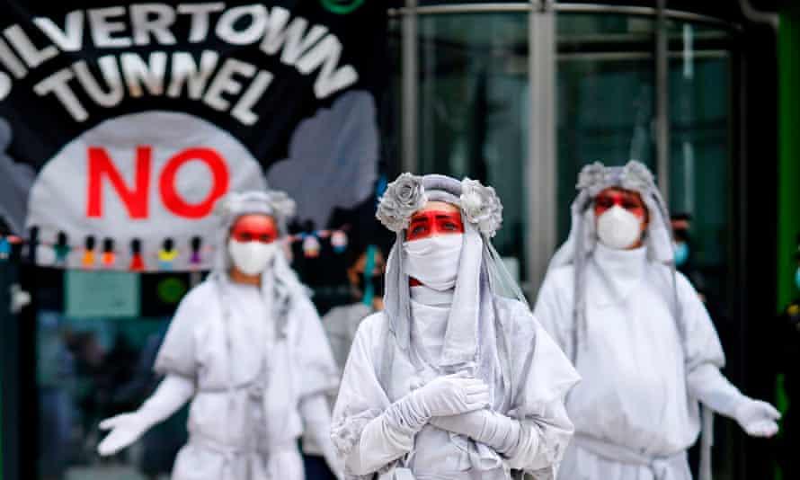 Anti-Silvertown protesters